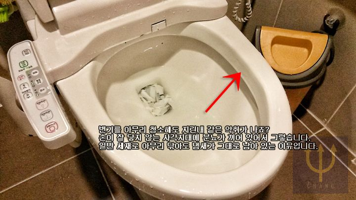 변기에서 나는 지린내 완전히 없애는 방법