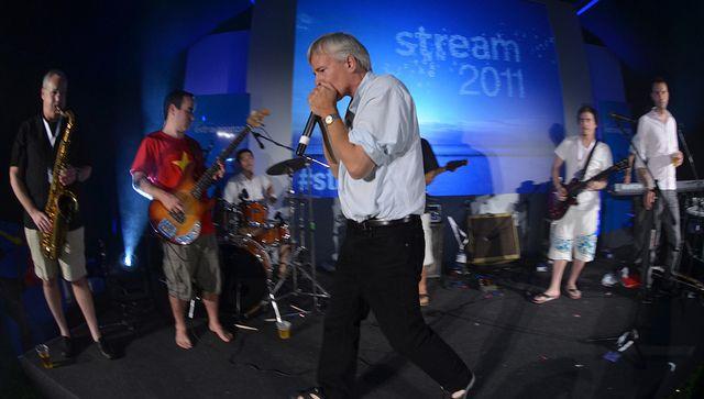 Stream 2011 showdown by Alex Connock (Twitter @mralexconnock), via Flickr