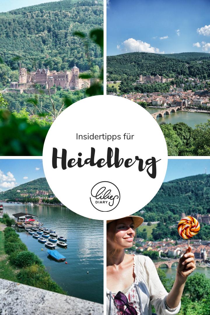 Die schönsten #Heidelberg #Sehenswürdigkeiten könnt ihr an einem #Wochenende besichtigen. Auf www.lilies-diary.com gibt's den Plan für  euren Urlaub in Heidelberg!