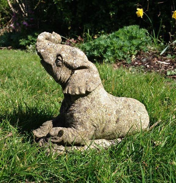 Stone Garden Animals Aqe anelp cast stone elephant garden statue animals pinterest aqe anelp cast stone elephant garden statue workwithnaturefo