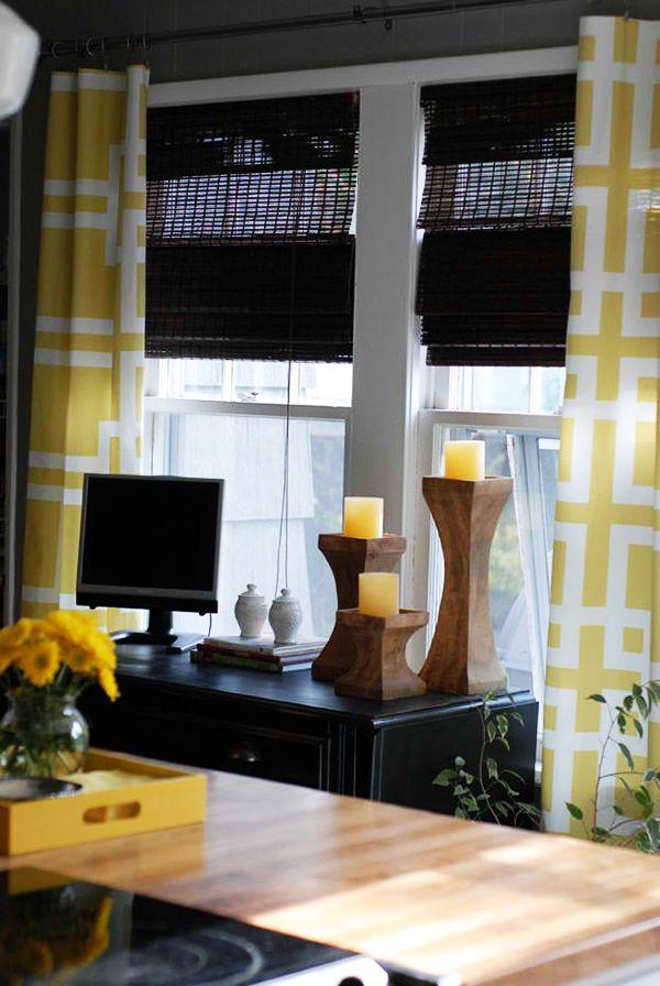 gardinen selber n hen 20 tolle diy gardinenideen n hen. Black Bedroom Furniture Sets. Home Design Ideas