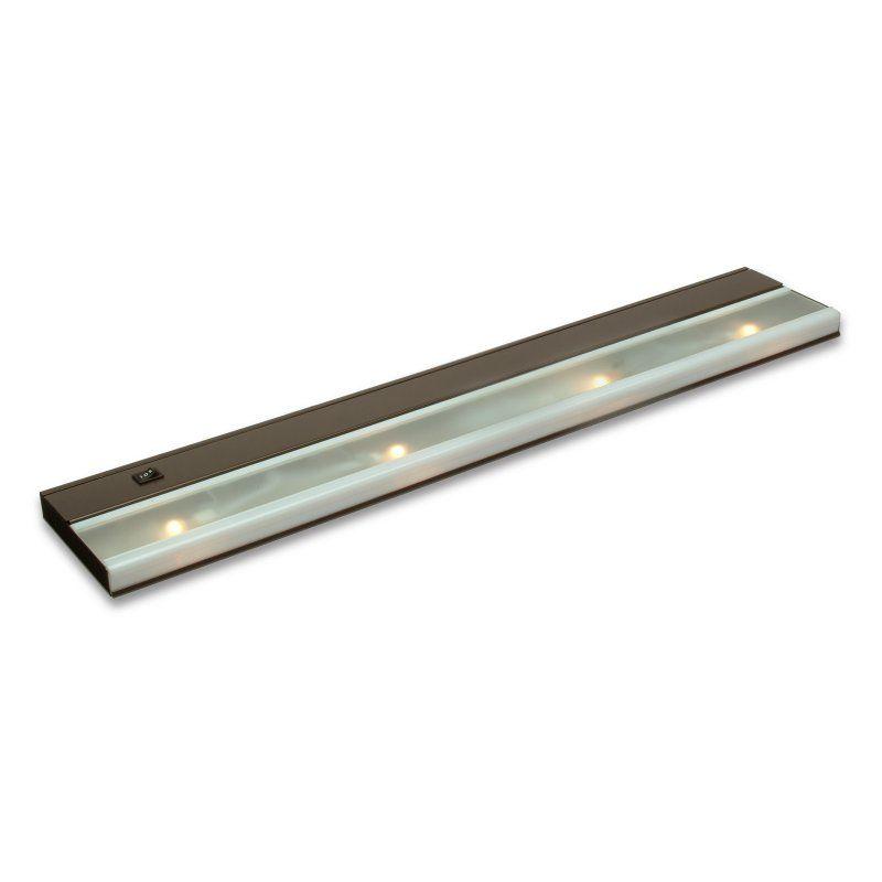 Kichler Direct Wire Low V Xenon Under Cabinet Light Bronze