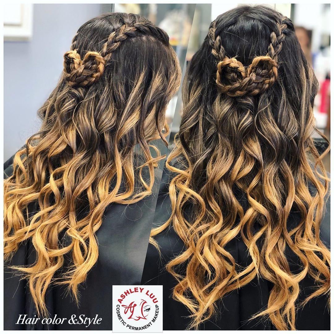Hair color&cut &style design by Ashleyluu