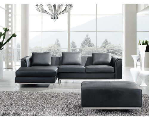 Groovy Catlett Leather Sectional With Ottoman Leather Corner Sofa Ibusinesslaw Wood Chair Design Ideas Ibusinesslaworg