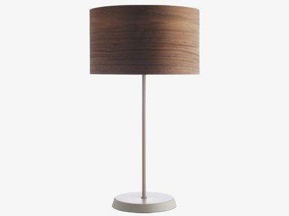 Suryo Greys Metal Mushroom Grey Metal Table Lamp Base Habitatuk Lamp Lamp Bases Metal Table Lamps