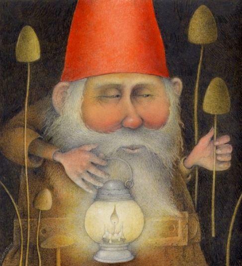 Suspicious Gnome    Wayne Anderson