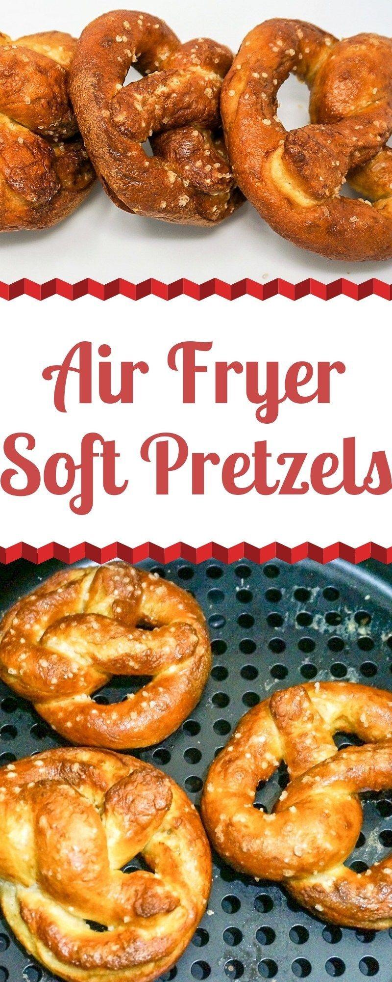 Air Fryer Soft Pretzels | Grace Like Rain Blog #airfryerrecipes