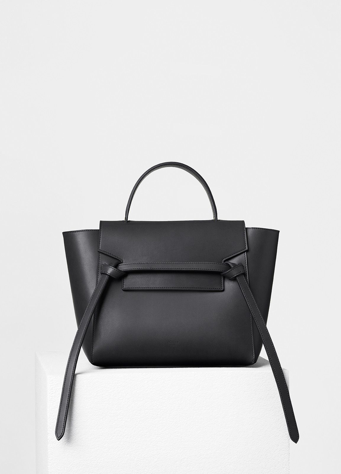 94ba0d7c4b53 Micro Belt Handbag in Grained Calfskin - Céline