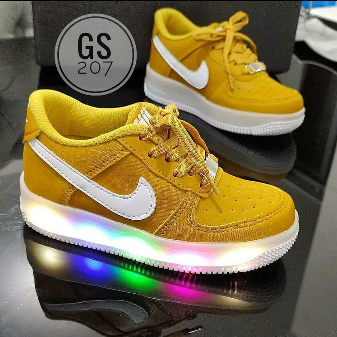 Inválido Color de malva Hacer  Nike Luces para Niños y Niñas 💕 Tallas de 21 al 33 Variados colores...  Encuentra los mejores Precios💁♀️ Pe… | Nike air force sneaker, Nike, Nike  cortez sneaker