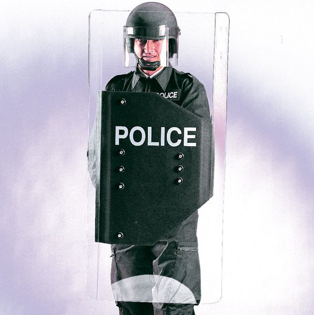 Image Gallery Police Shields