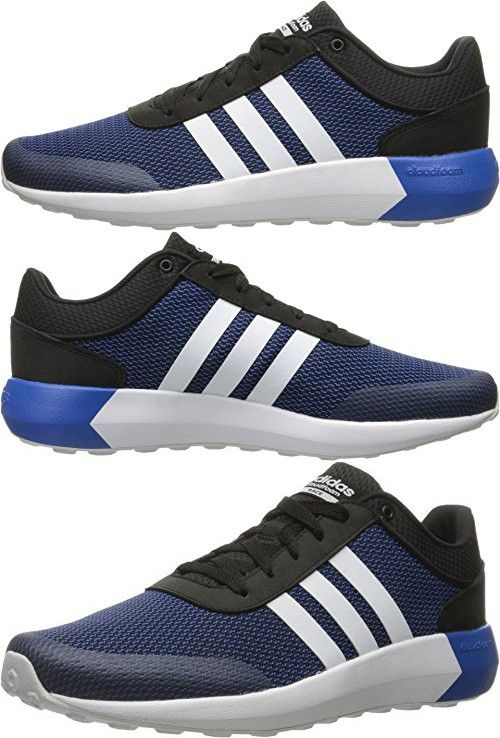 Adidas NEO Men s Cloudfoam Race Running Shoe 9957d65f3b1b2