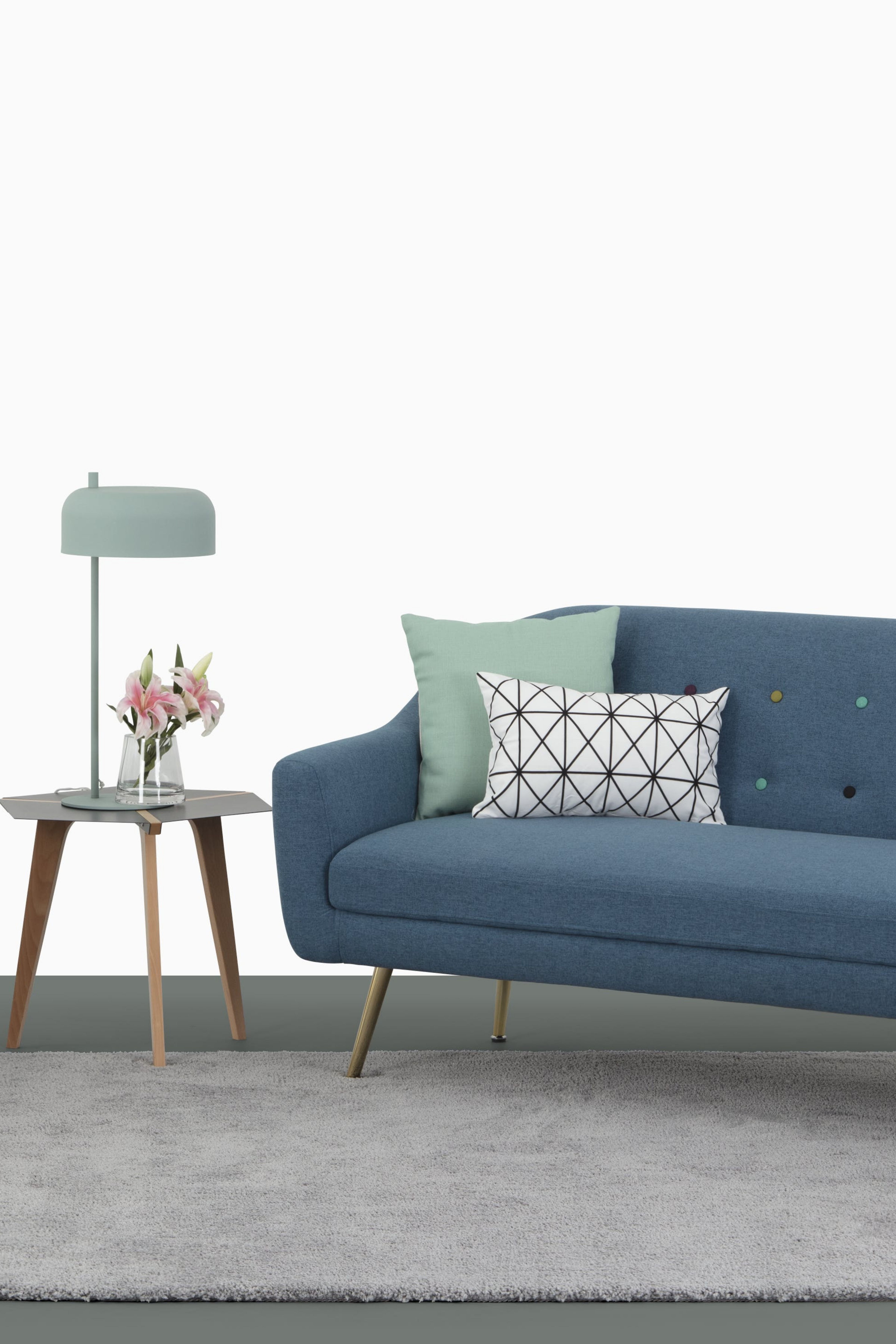 Arden 3 Seater Sofa S Flamboyant Spirit Can Be Reflected Through
