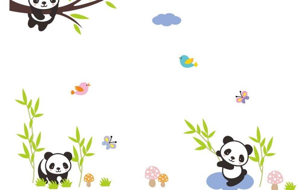 Keren 30 Foto Kartun Mudah Di Gambar Bayar Di Tempat Stiker Dinding Kartun Panda Decal Dekorasi Ruangan Rumah Diy Mudah Di Kartun Gambar Menggambar Karikatur