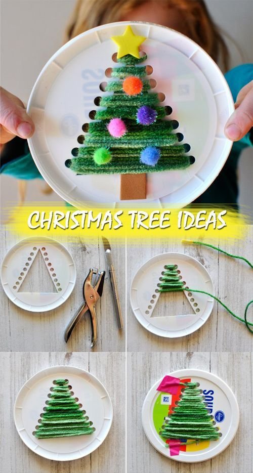 Christmas Tree Ideas #holidaycraftsforkidstomake
