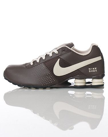 reputable site 0bccc 7c4e9 Nike Shox Deliver Brown Tan