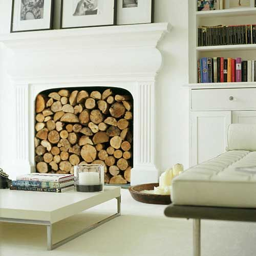 Stylefile 1 Decorative Wood Piles Victorian Living Room