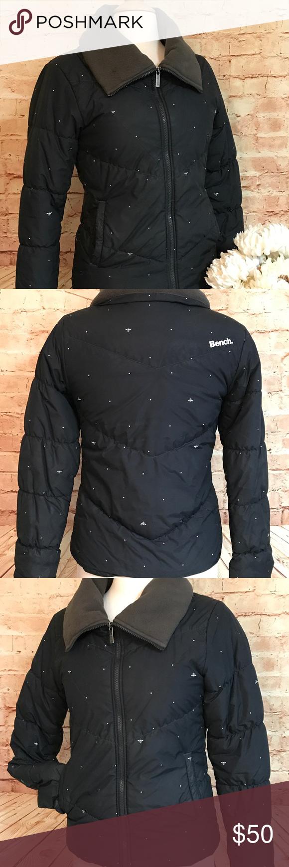 Sold Bench Urbanwear Black Polka Puffer Jacket Urban Wear Puffer Jacket Women Clothes Design [ 1740 x 580 Pixel ]