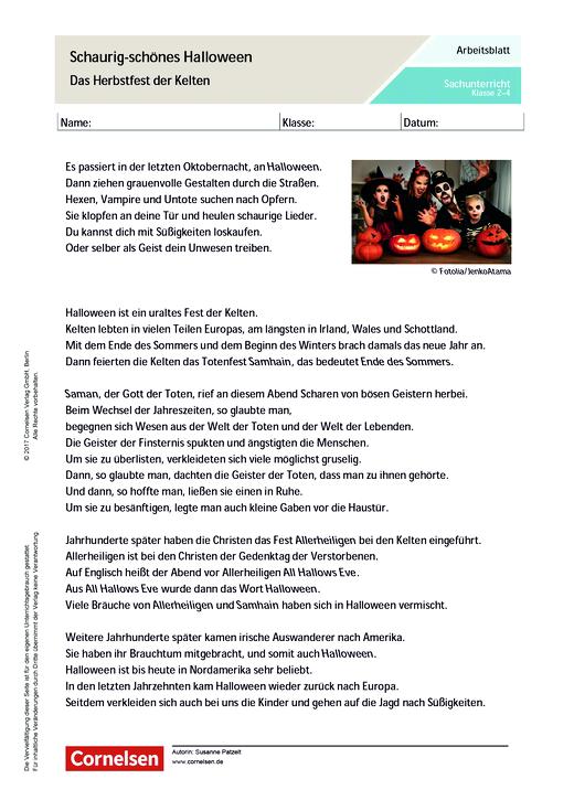 Schaurig Schönes Halloween Das Herbstfest Der Kelten