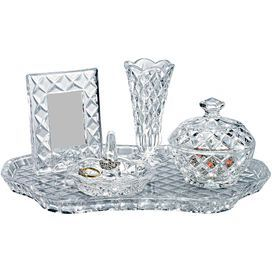 5-Piece Crystal Vanity Set | Gifts for Her | Pinterest | Vanities ...