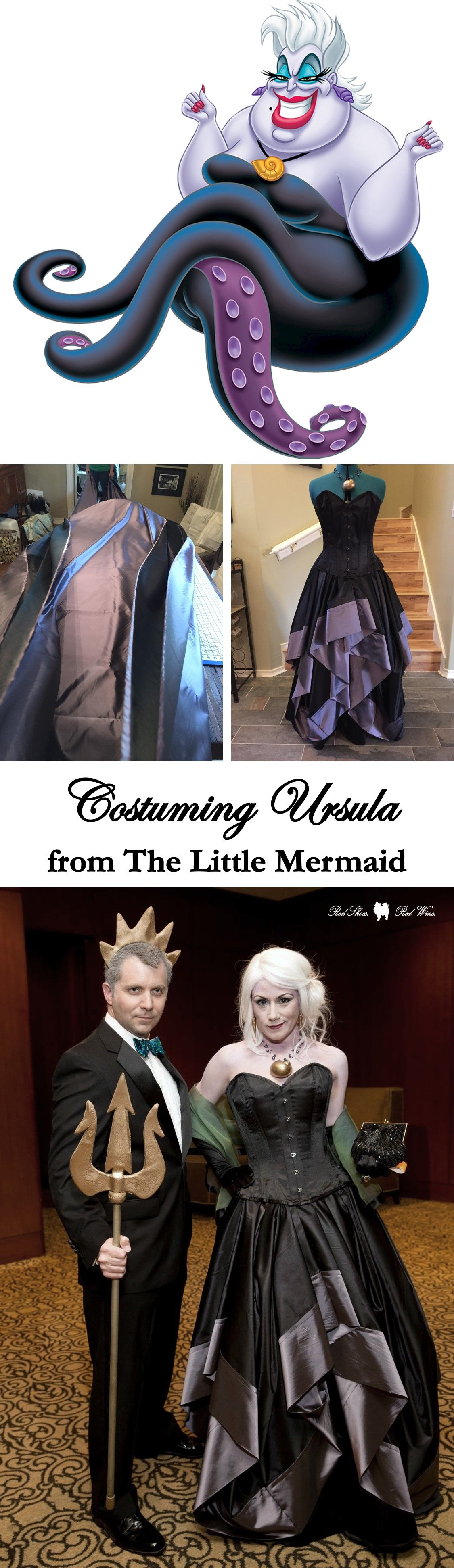 Costuming ursula concept from the little mermaid pinterest costuming ursula from disneys the little mermaid cosplay costume halloween diy solutioingenieria Images