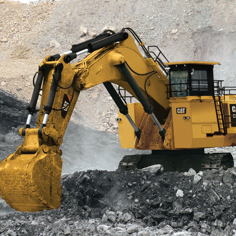 giant cat excavator - photo #5