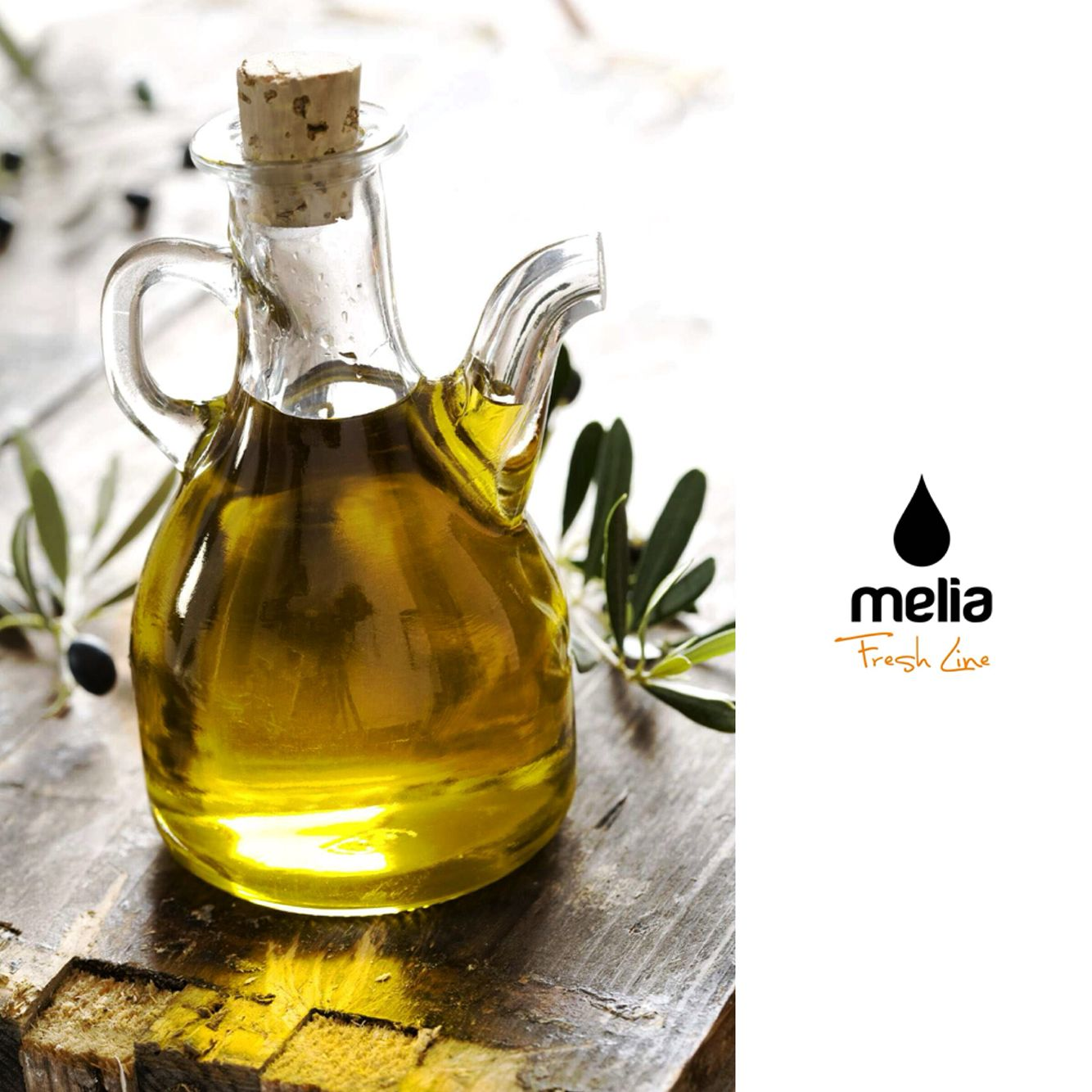Melia Freshline Extra Virgin Olive Oil. Our Own Production