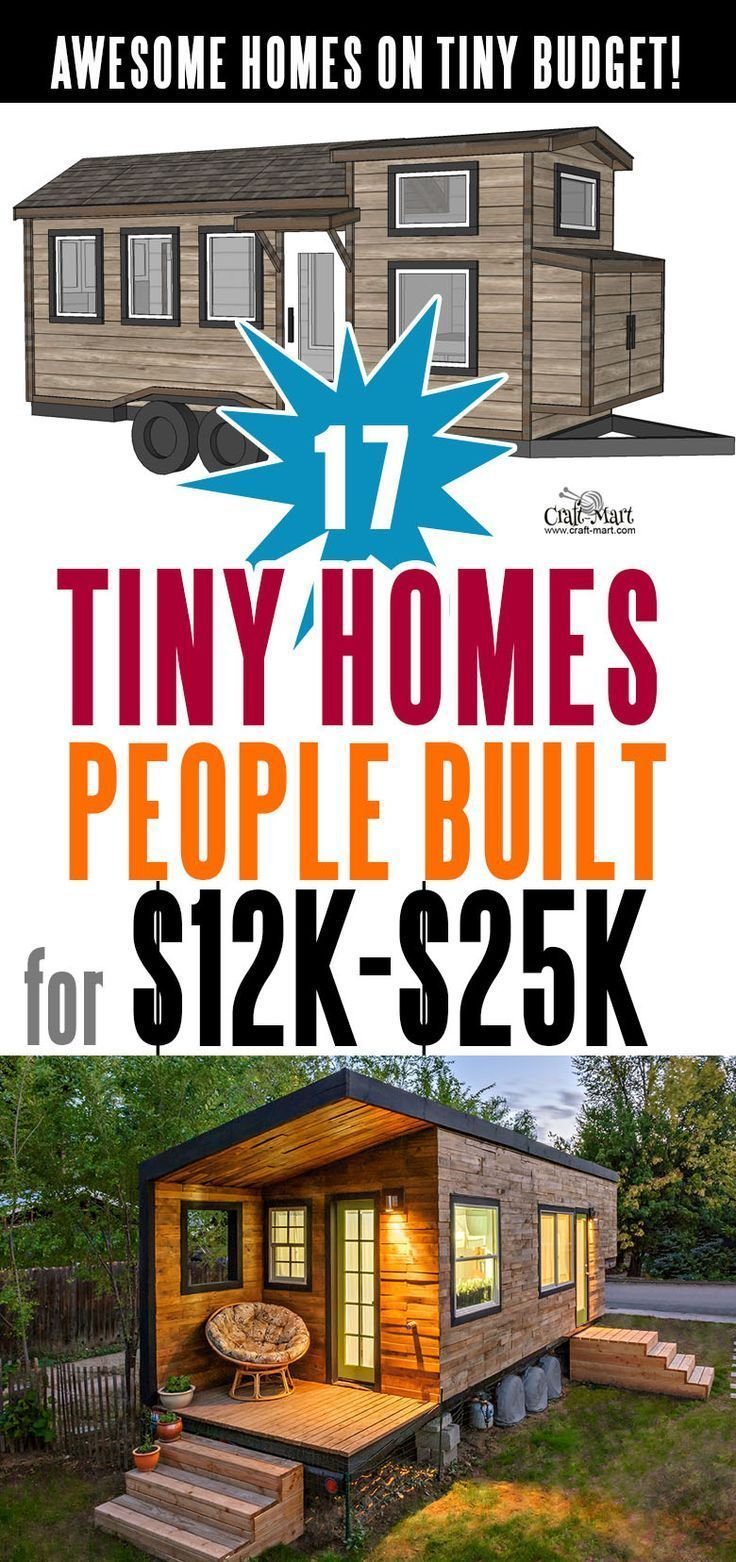 17 Best Custom Tiny House Trailers and Kits with Plans for Super-Tight Budget - Craft-Mart