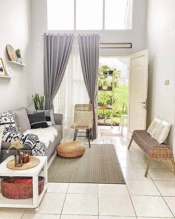 Ide Desain Interior Ruang Tamu Kecil Minimalis Desain Interior Ide Dekorasi Rumah Ide Ruang Keluarga