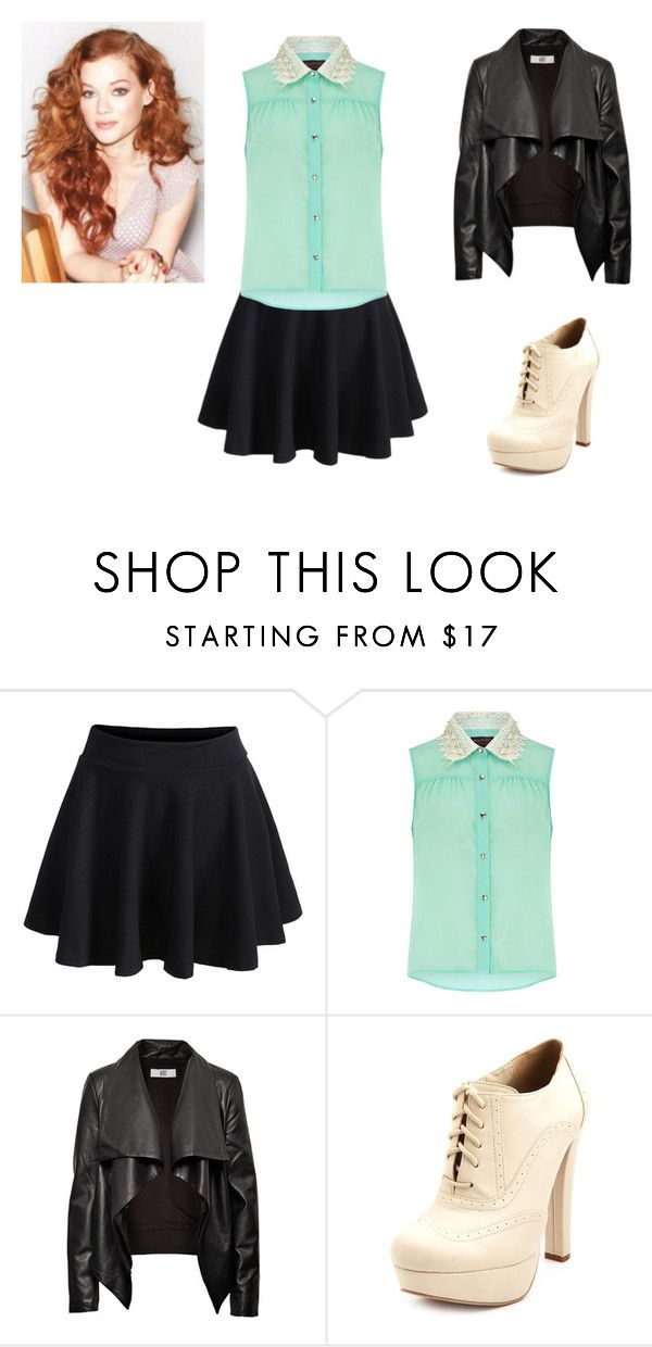 """Tess 19"" by sumijepson ❤ liked on Polyvore featuring WithChic, Dorothy Perkins, HIDE and Charlotte Russe"