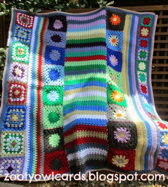 V-stitch Centre Panel: Wade's Blanket CAL (Part 5)