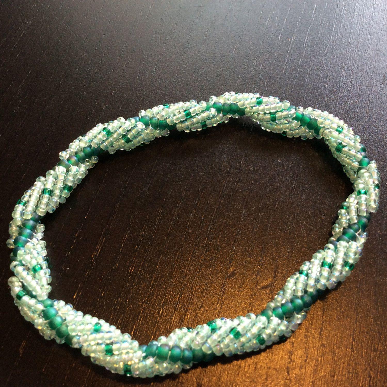 Bracelet by Bolsterbeads on Etsy
