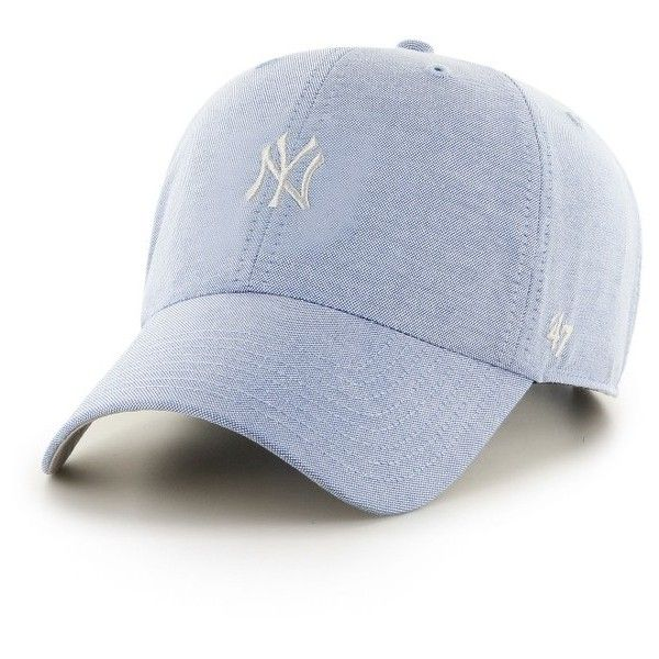 01f21e3c4a4 New York Yankees Monument Salute Clean Up Periwinkle 47 Brand Adjustable Hat  - Detroit Game Gear