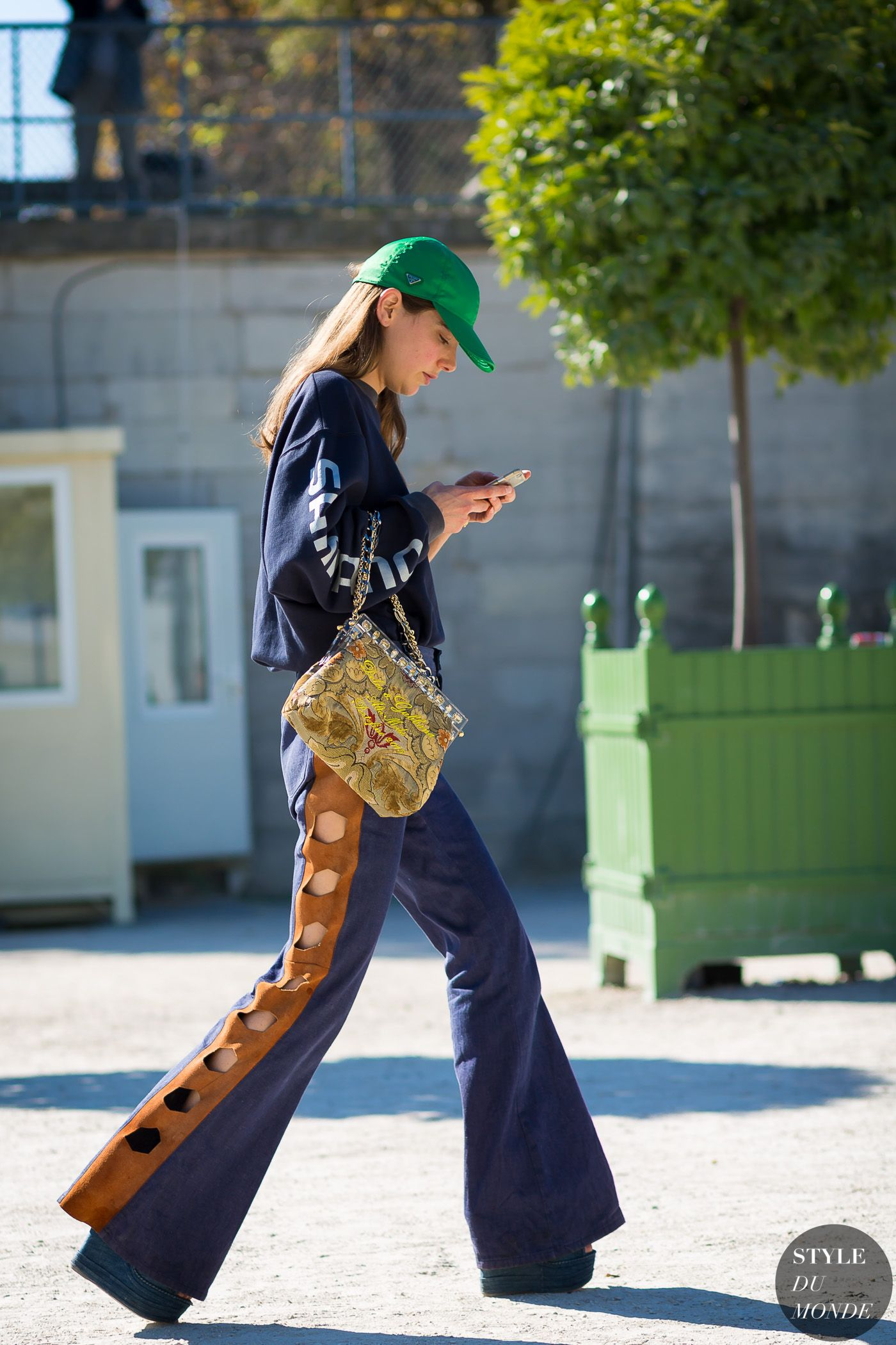Paris Fashion Week SS 2016 Street Style: Ursina Gysi