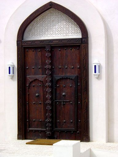 This is a traditional door of Oman \u2013 very similar to the doors we saw in & This is a traditional door of Oman \u2013 very similar to the doors we ...