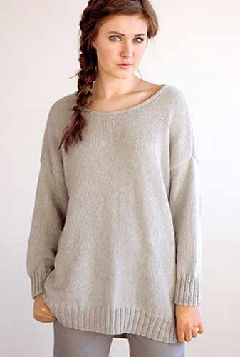 Tunic Sweater Knitting Pattern : Pattern Knitting Kim Hargreaves Rowan Pima Cotton Tunic Fleeting ??????? ...
