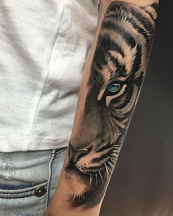 4d5d1bbfd Top 20 der besten Tiger Tattoos #besten #tattoos #tiger | татоси ...