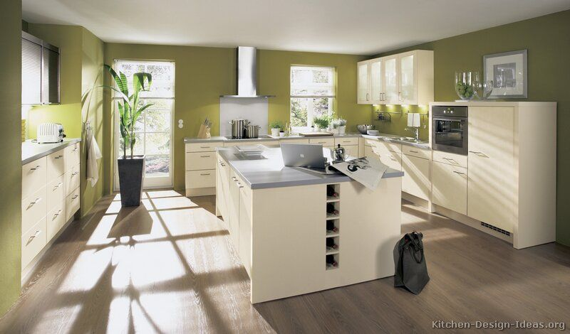 Green Kitchen Walls google image result for http://www.kitchen-design-ideas/images