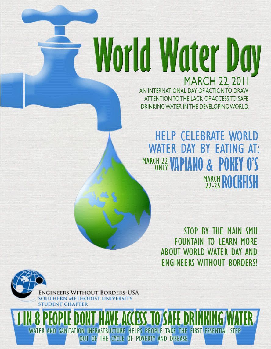 Posted on 22 march 2014. 15 World Water Day Ideas World Water Day Water Day World Water