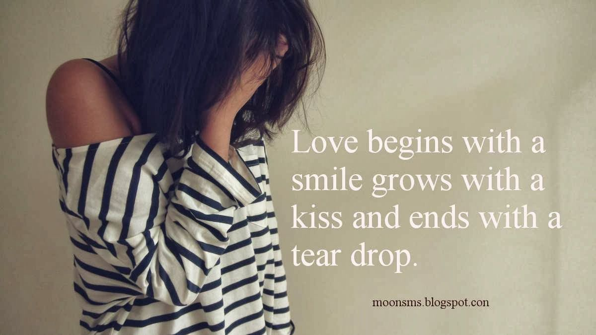 Love Cheat Breakup Broken Heart Sms Text Message Quotes In English