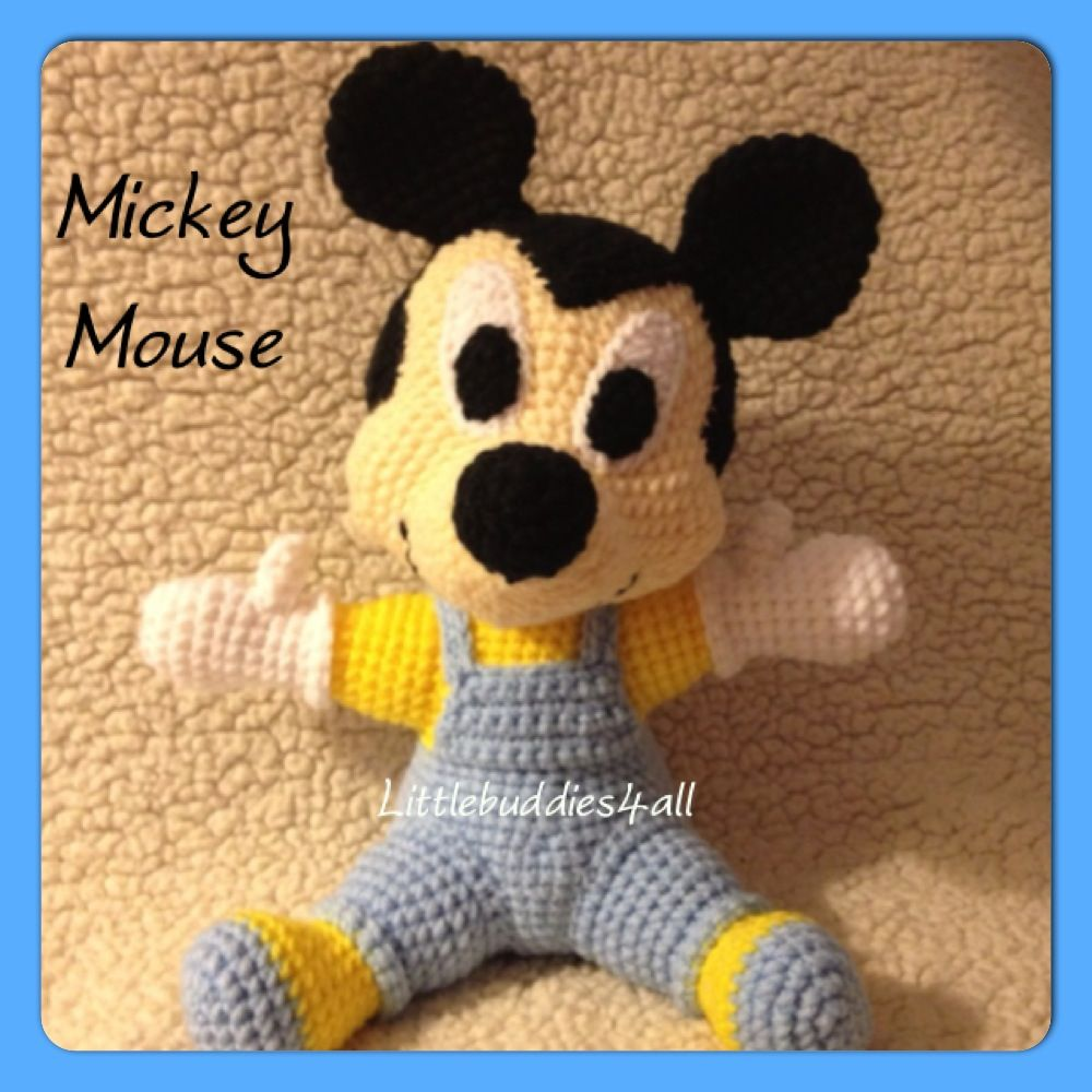 Crochet mickey mouse littlebuddies4alltoys pinterest crochet mickey mouse bankloansurffo Choice Image
