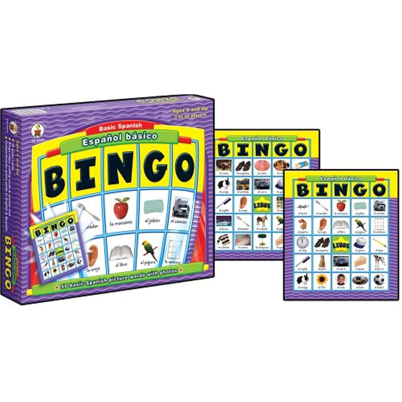 Carson Dellosa Espanol Basico Basic Spanish Bingo Read