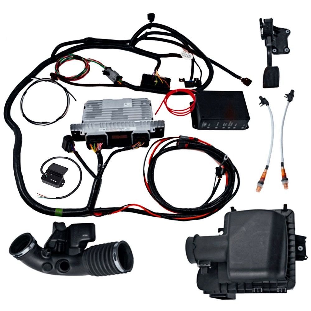 small resolution of ford racing control pack with speedometer adjuster speed dial wiring 4v 5 0l coyote 2011 2014