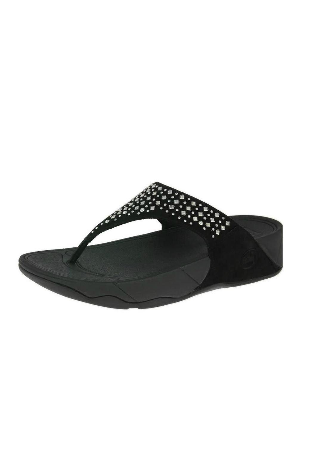 45c99474237b Sparkly and studded with Fit Flops famous