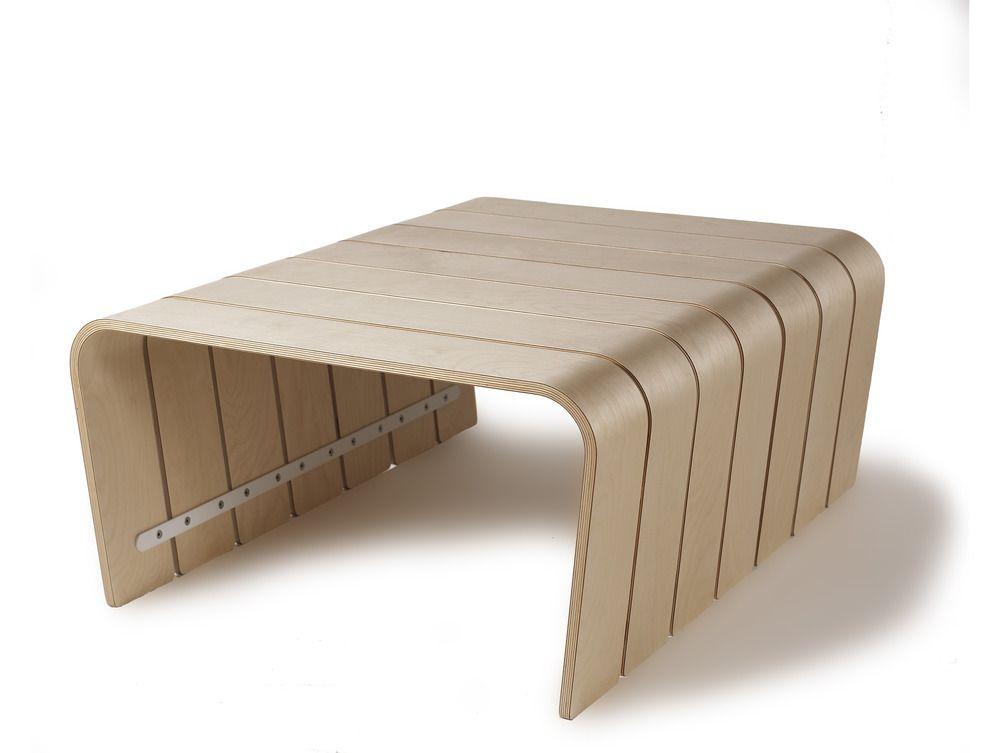 Big Rib Modular Coffee Table Maple Offi 599 00 Inspired By