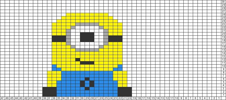 Contemporary Knitting Pattern For A Minion Embellishment Sewing