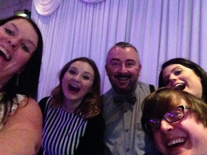 Comms team selfie with richard mckendrick chief operating