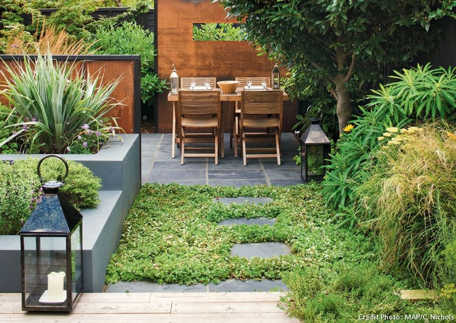 10 Idees Pour Amenager Un Petit Jardin Petits Jardins Amenager