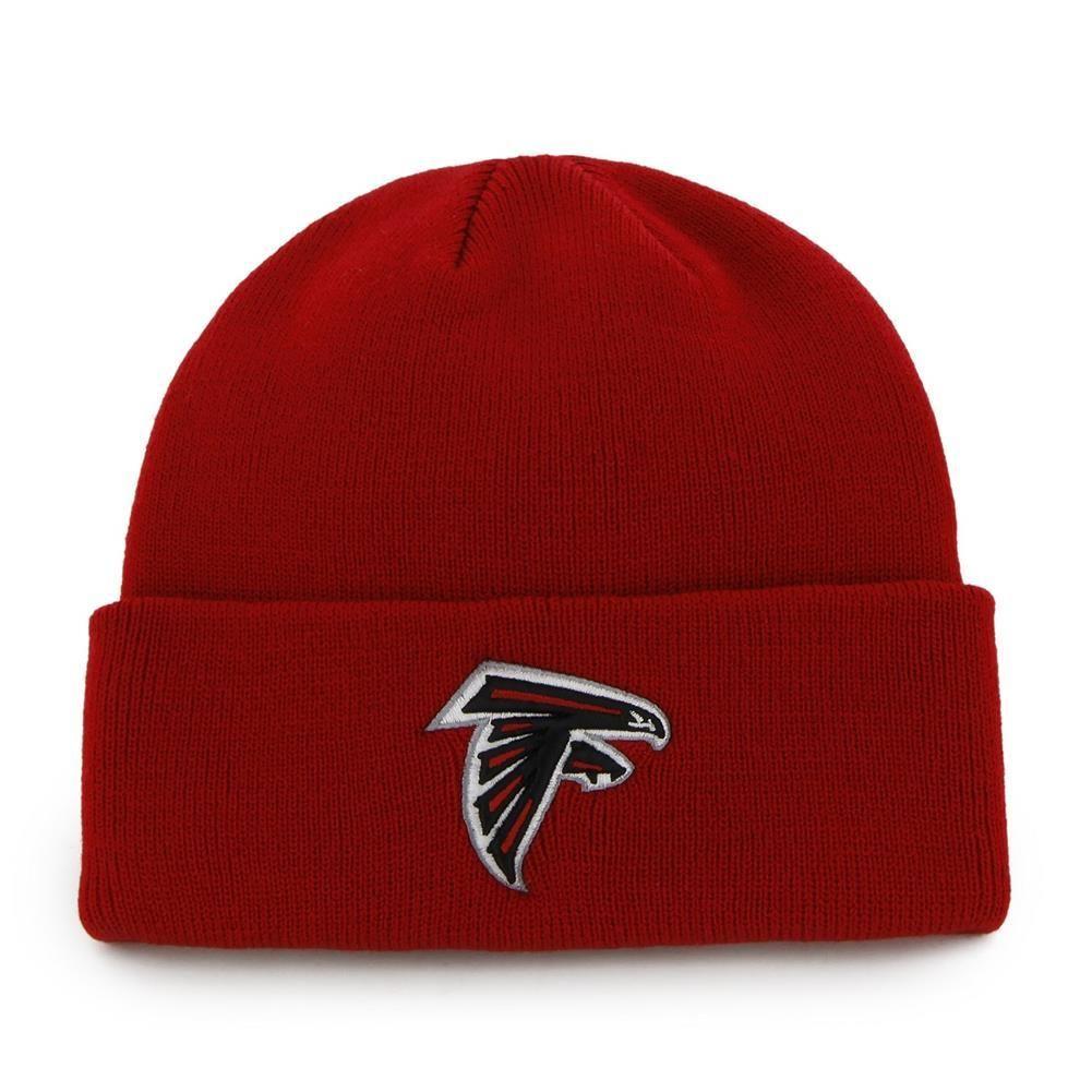 Atlanta Falcons Raised Cuff Knit Beanie Knit Beanie Atlanta Falcons Beanie
