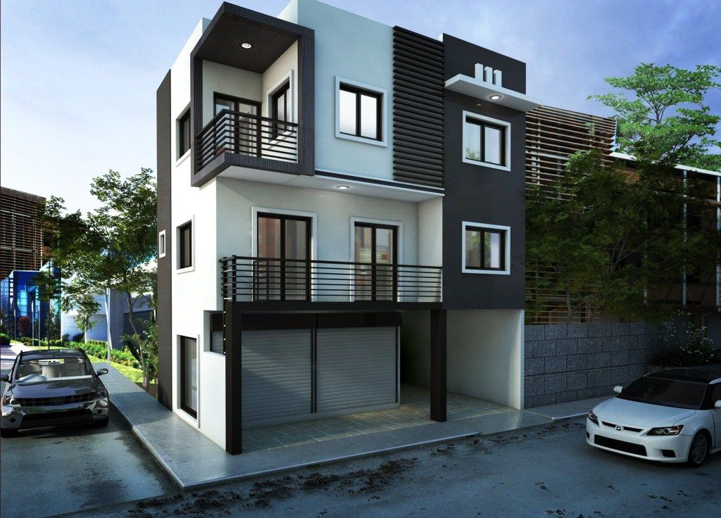 House design philippines 13 nice homes pinterest for 3 story modern house plans philippines