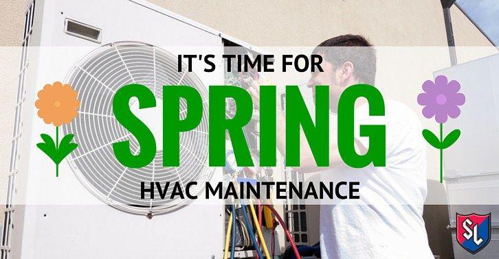 It S Time For Spring Hvac Maintenance Hvac Maintenance Hvac